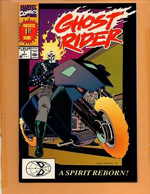 Ghost Rider #1 1990 2nd series NM-