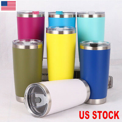 HOT 20oz  Stainless Steel Vacuum Tumbler Insulated Travel Coffee Mug Cup Flask
