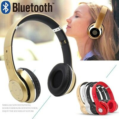 Wireless Earphones Bluetooth Headphones Over-Ear Headset For iPhone Samsung AU