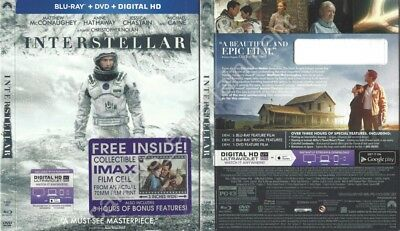 Interstellar (Blu-ray SLIPCOVER ONLY * SLIPCOVER ONLY)