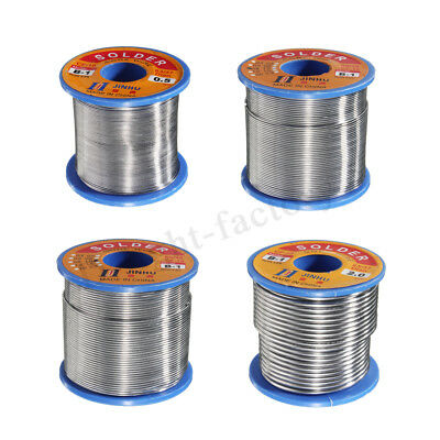 50g-500g 60/40 2% Flux Tin Lead 0.5-2mm Soldering Reel Wire Rosin Core Solder