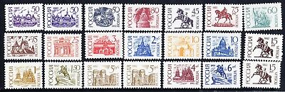 Russia Russland LOT Definitive all different MNH