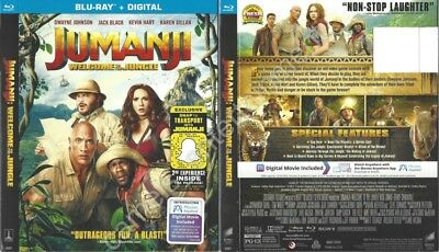Jumanji: Welcome to the Jungle (SLIPCOVER ONLY for Blu-ray)
