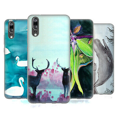 Official Mai Autumn Animals Soft Gel Case For Huawei Phones