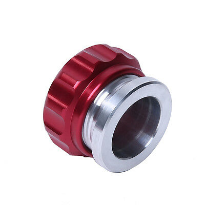 2'' 25.4 mm Aluminium Alloy Weld On Filler Neck And Cap Oil Fuel Water Tank Red