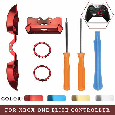 FOR XBOX ONE Elite Controller Replace Part LB RB Bumper Button+Front  Damper+Ring