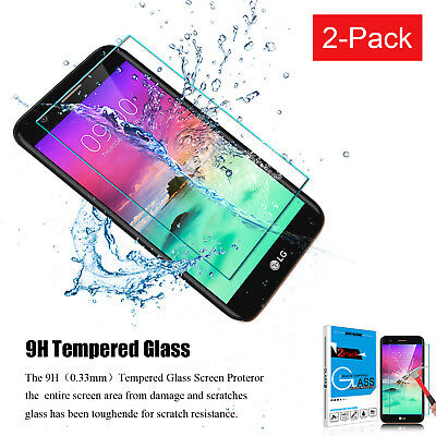 Premium Tempered Glass Screen Protector Saver For LG Stylo 3 / Plus / Stylus 3