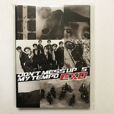 SM Town SUM EXO 5th Album [DON'T MESS UP MY TEMPO] Official :  Postcard Book