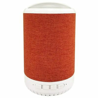 Portable Wireless Bluetooth Speaker with Phone Holder, Built-In Mic, FM Rad T6C2