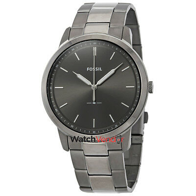 d19a04924bbe FOSSIL THE MINIMALIST 3H Grey Dial Men s Watch FS5459 -  93.99 ...