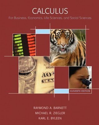 Calculus for Business, Economics, Life Sciences a... by Byleen, Karl E. Hardback
