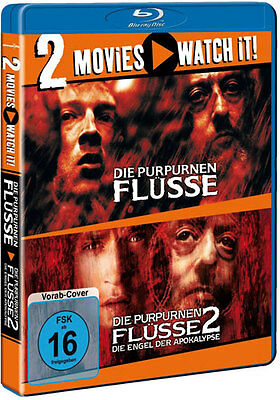 Die Purpurnen Flüsse 1 + 2 # 2 Movie Watch it - 2 Blu Ray