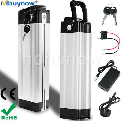 24V 10Ah E-Bike Battery Electric Bike Li-ion Battery W/ Anti-theft Lock Charger