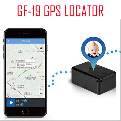 Magnetic Mini Car GPS Tracker Real Time Tracking Locator Device Voice Record LOT