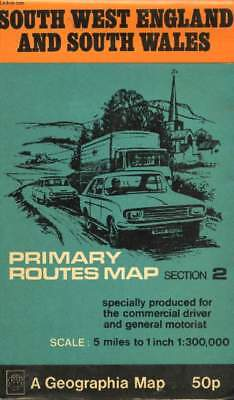 South West England And South Wales. Primary Routes Map. Section 2 - Collectif...