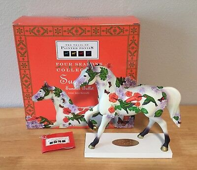 SUMMER BALLET Trail of Painted Ponies Four Seasons Pony LE Low # 0,668 NEW FLAW