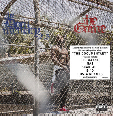 The Game : The Documentary 2.5 CD (2018) ***NEW***