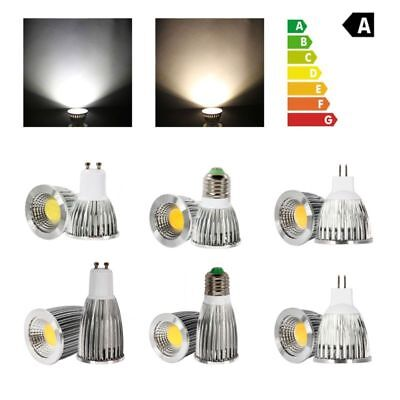 3W/5W MR16/GU10/E27 Dimmable LED COB Spot Downlamp Bulb Light Warm Cool White