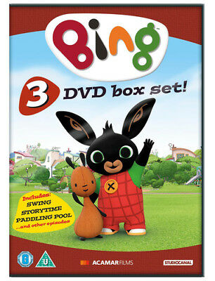 Bing: 1-3 Collection DVD (2016) Philip Bergkvist ***NEW***