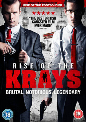 Rise of the Krays DVD (2015) Kevin Leslie ***NEW***