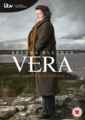 Vera: The Complete Series 1-5 DVD (2015) Brenda Blethyn ***NEW***