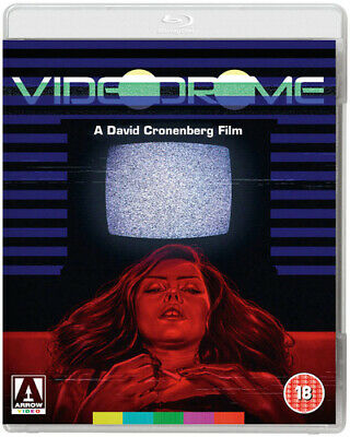 Videodrome Blu-Ray (2015) James Woods, Cronenberg (DIR) cert 18 ***NEW***