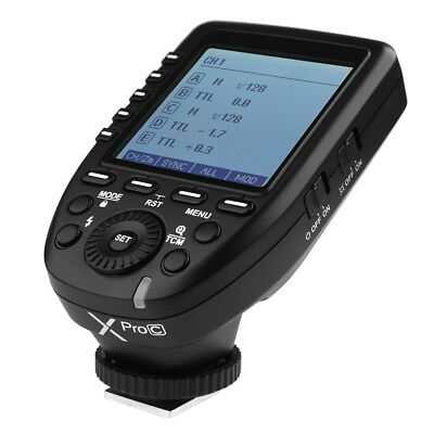 Godox Xpro-C TTL E-TTL HSS 2.4G Wireless Flash Trigger For Canon Camera US Ship