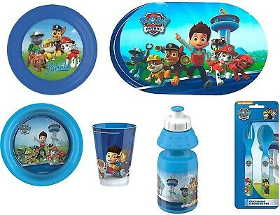 Paw Patrol Ultimate Meal Set with 6 Pieces