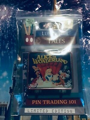 Disney Pin of the Month Lunch Time Tales Alice in Wonderland