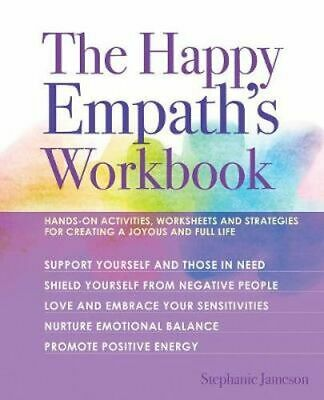 NEW The Happy Empath's Workbook By Stephanie Jameson Paperback Free Shipping