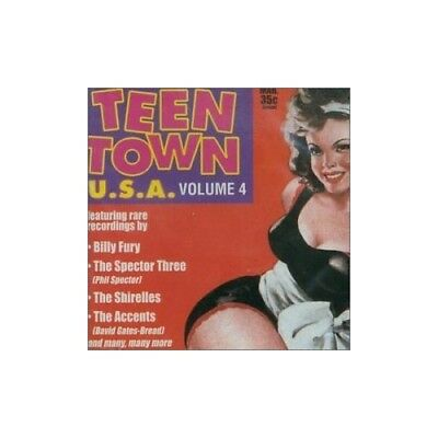 Various - Teen Town U.S.a - Various CD FJVG The Fast Free Shipping