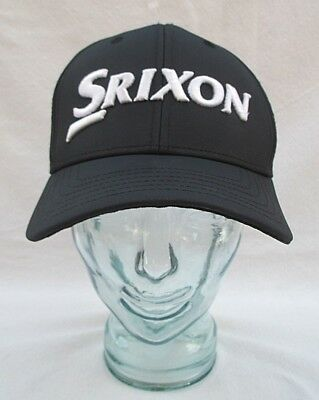 Srixon Cleveland Golf Hat Baseball Cap Snapback Adjustable Black W  White  Nwot ccf1d66cc6c8