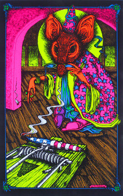 Sorcerer - Weed Blacklight Poster - 23X35 Flocked 53029