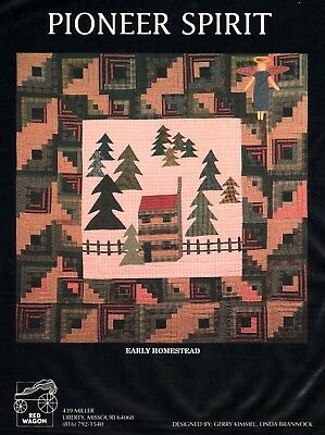 Pioneer Spirit Quilt Book-15 Designs And/Or Quilts-Red Wagon