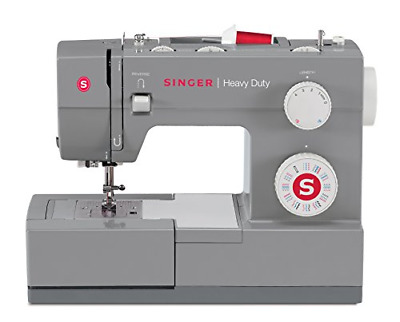 Singer | Heavy Duty 4432 Sewing Machine with 32 Built-In Stitches, Automatic and