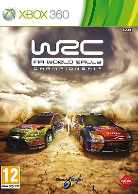 WRC - FIA World Rally Championship Xbox 360 PAL VERY GOOD CONDITION COMPLETE