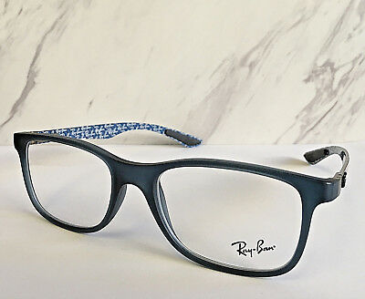 4bee2df53a3e79 New Ray Ban Eyeglasses Blue Carbon Frames Model No.RB8903-5262 (Frames Only