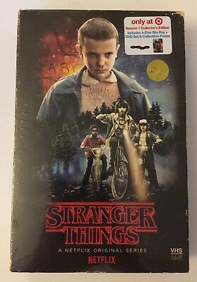 Stranger Things - Season 1 - VHS Package - Brand New Blu-ray