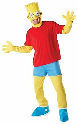 Rubie's Official Adult's The Simpsons Fancy Dress Costume- Standard