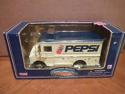 Golden Custom Replica 1/36 Scale Pepsi Step Van Bank Diecast Car collectable
