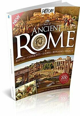 All About History Book of Ancient Rome 2015 Edition by Imagine Publishing Book