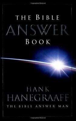 The Bible Answer Book by Hanegraaff, Hank Hardback Book The Cheap Fast Free Post