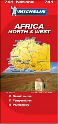 Africa North and West (National Maps) Sheet map, folded Book The Cheap Fast Free