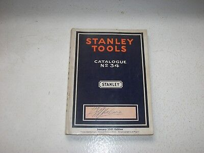 Stanley Tools Catalogue 1941  Excellent condition