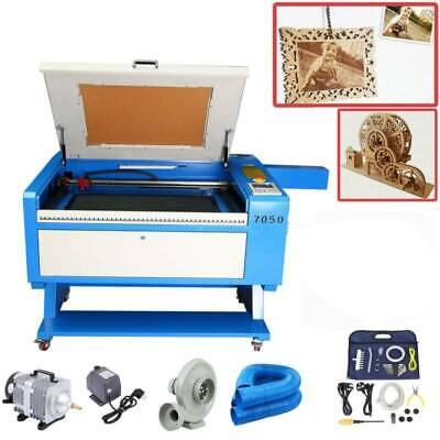 80W Co2 USB Laser Engraving & Cutting Machine 700x500mm with Water Chiller