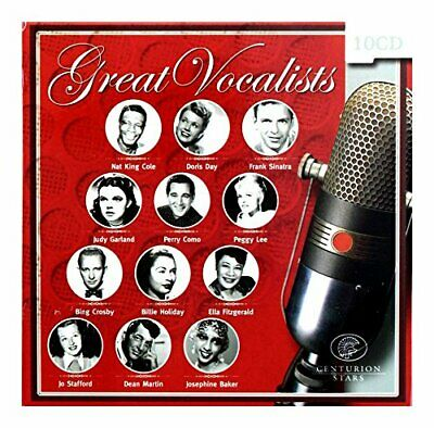 Great Vocalists - Great Vocalists (Box Set of 10 CD... - Great Vocalists CD 1SVG