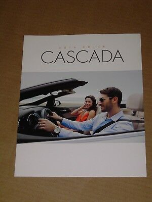 2016 Buick Cascada Sales Brochure Mint! 28 Pages