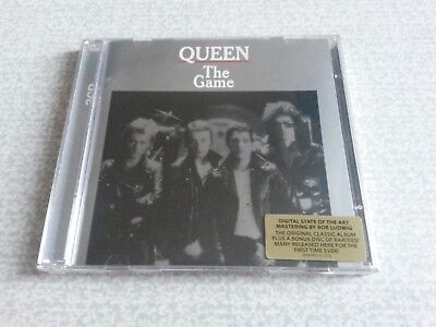 Queen 2CD The Game  Remastered 2011 40th Anniversary Edition