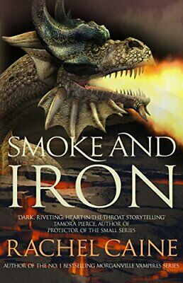 Smoke and Iron (The Great Library) by Caine, Rachel Book The Cheap Fast Free