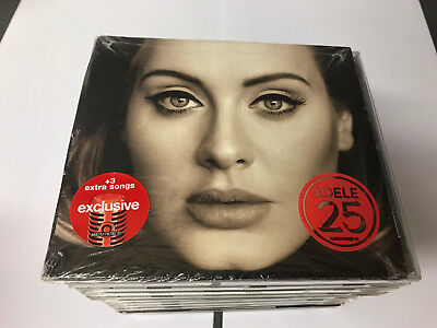Adele 25 NEW Sealed CD Exclusive ED. 3 Extra Songs Gatefold SEALED [SEE NOTE]